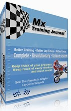 Motocross Training Journal Software Box Image