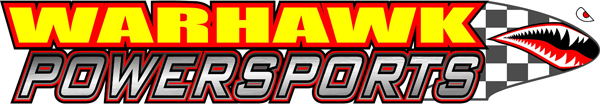 Warhawk Powersports Dirt Bike ATV Quad Jet Ski Go Kart Snowmobile Street Bike and more parts logo