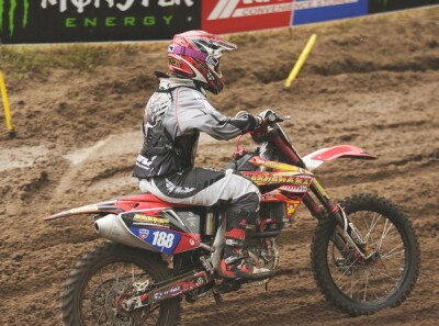Warhawkmx WMX Racer Alyssa Fitch at Moto-X 338 in Southwick